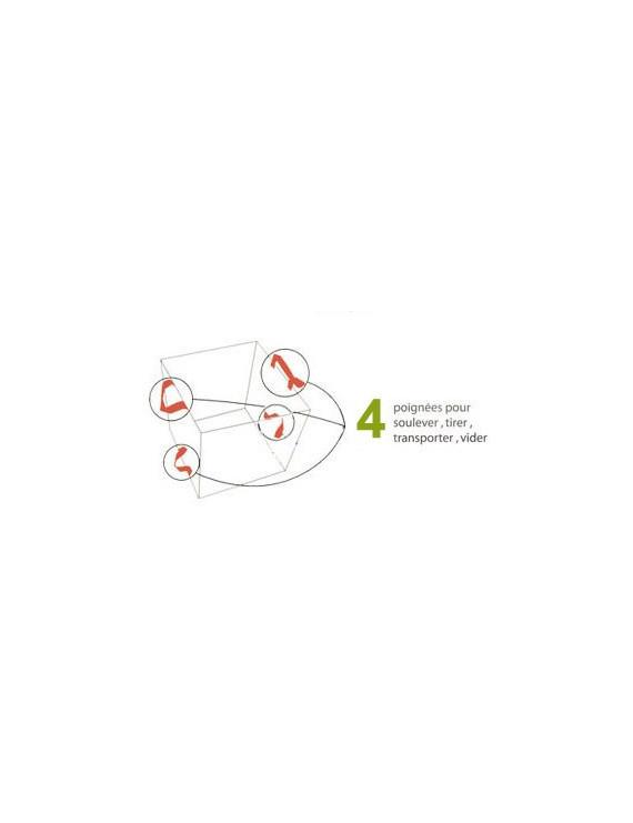 Croco spade / Bêche multifonction