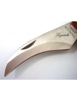 Couteau à champignons avec brosse