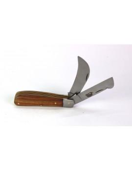 couteau double lame