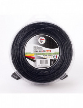 FIL BLACK TWIST MAC HUXON 4MM